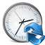 Clock Refresh Icon 64x64