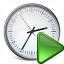 Clock Run Icon 64x64