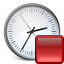 Clock Stop Icon 64x64