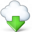 Cloud Computing Download Icon 64x64