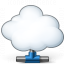 Cloud Computing Network Icon 64x64