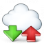 Cloud Computing Updown Icon 64x64