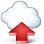 Cloud Computing Upload Icon 64x64