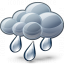 Cloud Rain Icon 64x64