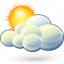 Cloud Sun Icon 64x64