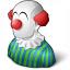 Clown Icon 64x64
