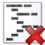 Code Delete Icon 64x64