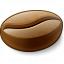 Coffee Bean Icon 64x64