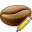 Coffee Bean Edit Icon 64x64