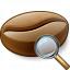 Coffee Bean View Icon 64x64