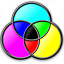 Colors Cmyk Icon 64x64