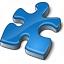 Component Blue Icon 64x64