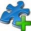 Component Blue Add Icon 64x64
