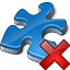 Component Blue Delete Icon 64x64