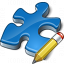 Component Blue Edit Icon 64x64