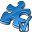 Component Blue Preferences Icon 64x64