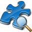 Component Blue View Icon 64x64
