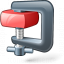 Compress 2 Red Icon 64x64