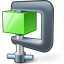 Compress Green Icon 64x64