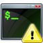 Console Warning Icon 64x64
