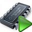 Cpu Run Icon 64x64