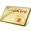 Credit Card Icon 64x64