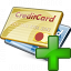 Credit Cards Add Icon 64x64