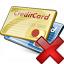 Credit Cards Delete Icon 64x64