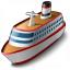 Cruise Ship Icon 64x64