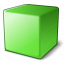 Cube Green Icon 64x64