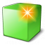 Cube Green New Icon 64x64