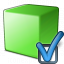 Cube Green Preferences Icon 64x64