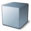 Cube Grey Icon 64x64