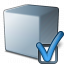 Cube Grey Preferences Icon 64x64