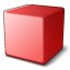 Cube Red Icon 64x64