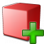 Cube Red Add Icon 64x64