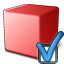 Cube Red Preferences Icon 64x64