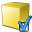 Cube Yellow Preferences Icon 64x64