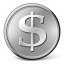 Currency Dollar Icon 64x64
