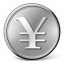 Currency Yen Icon 64x64