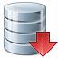 Data Down Icon 64x64