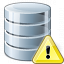 Data Warning Icon 64x64