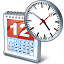 Date Time Icon 64x64