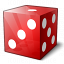 Die Red Icon 64x64