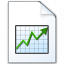 Document Chart Icon 64x64