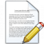 Document Edit Icon 64x64
