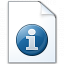 Document Information Icon 64x64