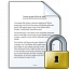 Document Lock Icon 64x64