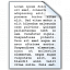 Document Text Icon 64x64