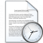 Document Time Icon 64x64